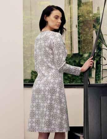Şahinler - Şahinler Women Pattern Nightgown MBP23713-1 (1)