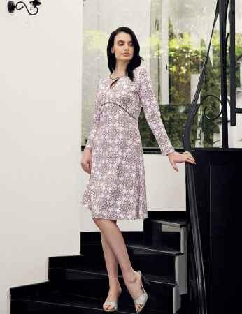 Şahinler - Şahinler Women Pattern Nightgown MBP23713-1