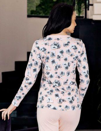 Şahinler - Şahinler Women Pattern Pajama Set MBP23714-1 (1)