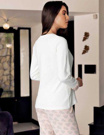 Şahinler - Şahinler Women Pattern Pajama Set MBP23716-1 (1)