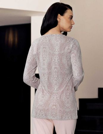 Şahinler - Şahinler Women Print Pajama Set MBP23722-1 (1)