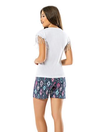 Şahinler - Şahinler Women Short Set White MBP24025-1 (1)