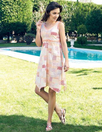 Şahinler - Şahinler Yazlık Kadın Elbise MBP24015-1