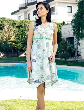 Şahinler - Şahinler Yazlık Kadın Elbise MBP24015-2