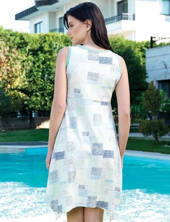 Şahinler - Şahinler Yazlık Kadın Elbise MBP24015-2 (1)