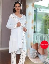 Şahinler - Schlafanzug für Schwangere MBP23117-1