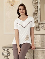 Şahinler - Şahinler Женская пижама MBP23404-1